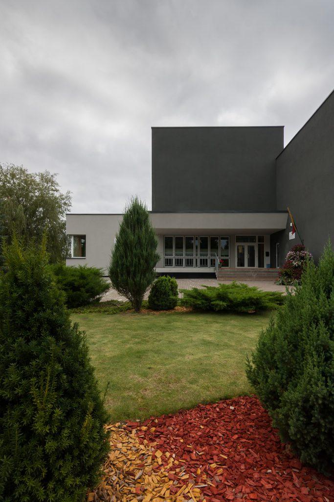 Profesinio rengimo centras - pagrindinis įėjimas