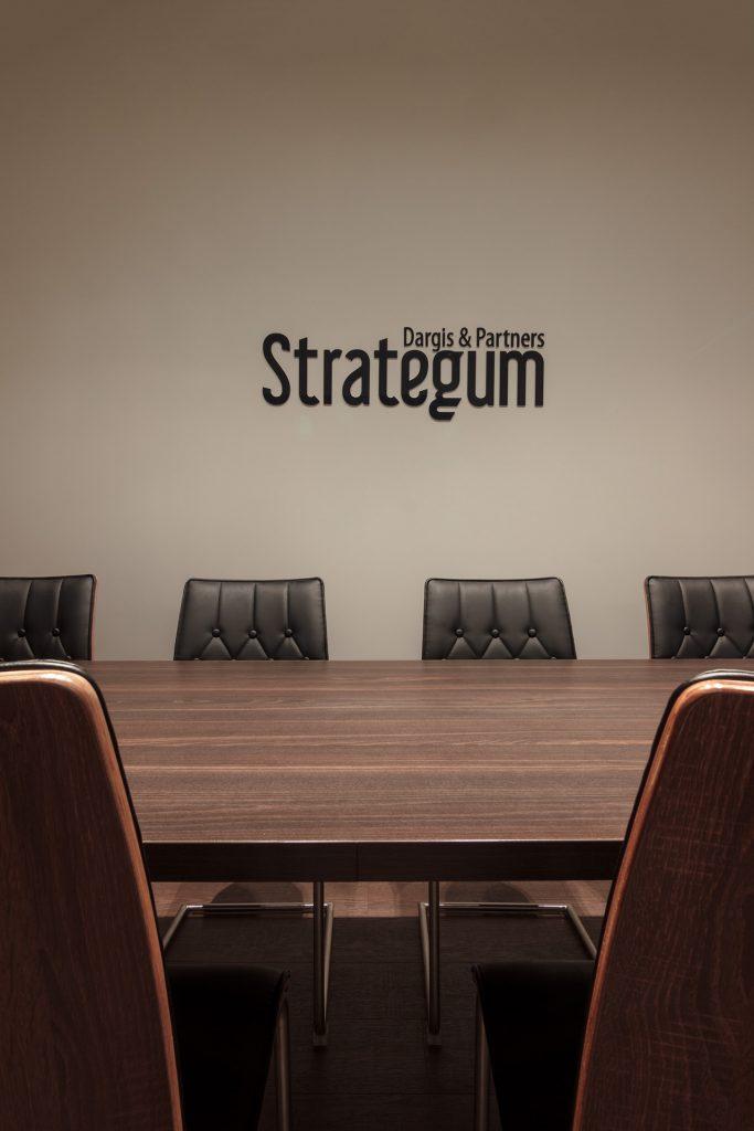 Teisininkų biuras Strategum - pasitarimų kambarys
