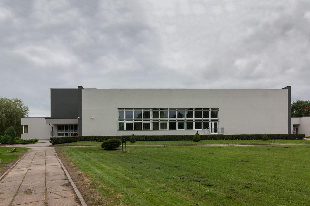 Profesinio rengimo centras - fasadas