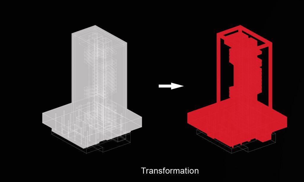 Pirėjo bokštas - metamorfozė