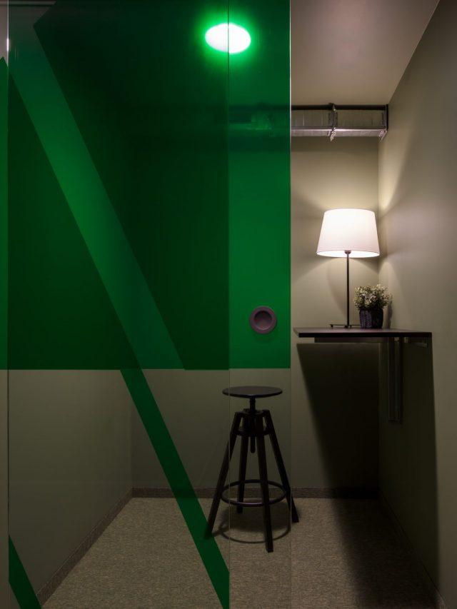 """""""Blaster"""" - pokalbių kambarys/ call room"""