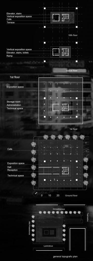 Pirėjo bokštas - planai
