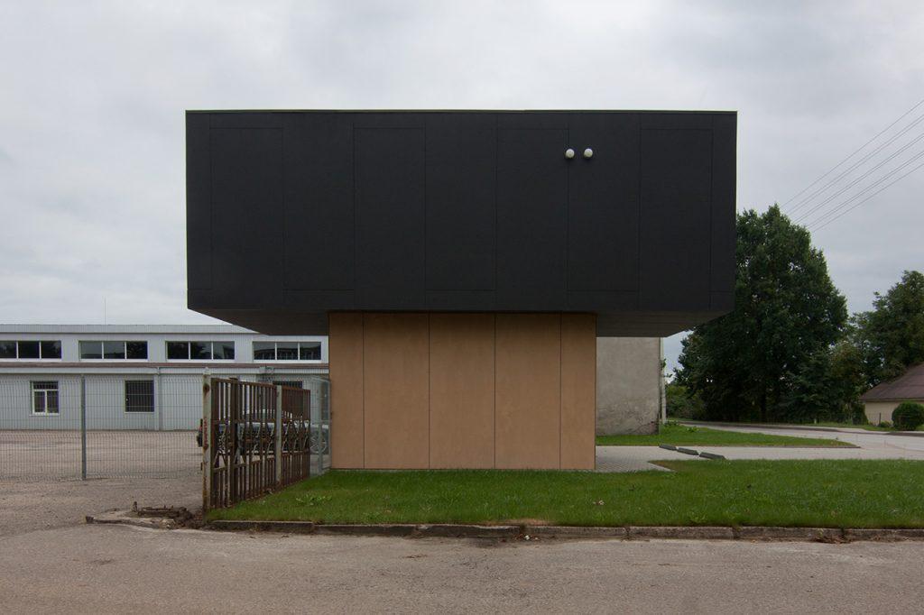 Vulcan - šoninis fasadas