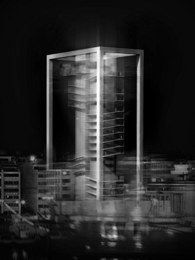 Pirėjo bokštas - vizualizacija