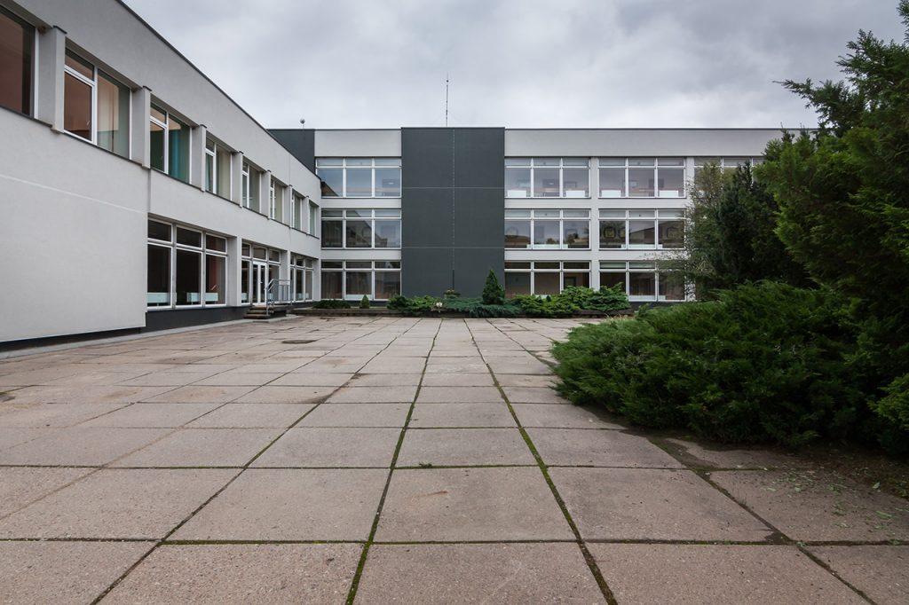 Profesinio rengimo centras - vidinis kiemas